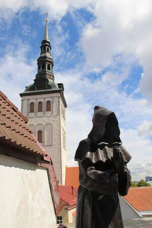 Beautiful panorama of capital city Tallin, Estonia