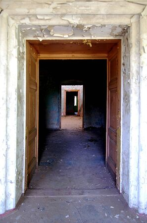 doorway: Doorway in the doorway in the doorway Stock Photo