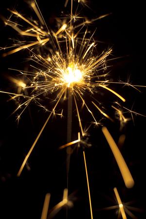크리스마스와 새해 파티 sparkler 스톡 콘텐츠