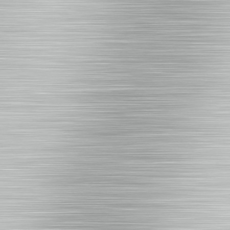 Brushed aluminium metal surface texture or brushed stainless steel background Stock Photo