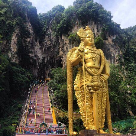 malaysia culture: Batu Caves in Malaysia  Stock Photo