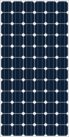 太陽電池パネルのテクスチャ  イラスト・ベクター素材