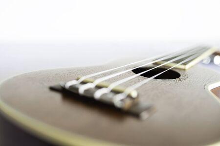A soft focus image of ukulele