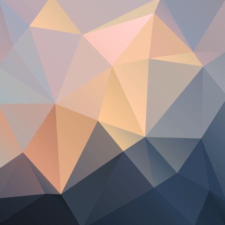 beautiful colorful abstract background with triangles