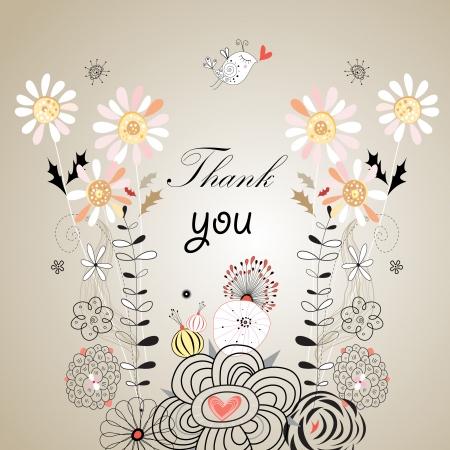 花の背景にフォントのおかげでグラフィック カード