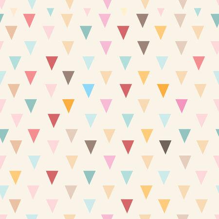 Sin patrón de triángulos de colores sobre un fondo de color amarillo brillante Foto de archivo - 24182077
