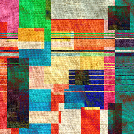 bright abstract background geometric elements