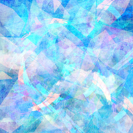 workmanship: colorful beautiful abstract background Aged
