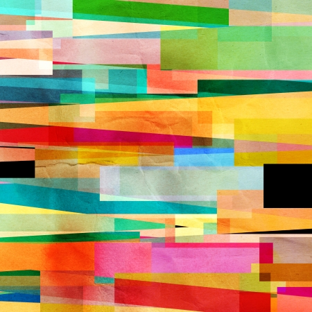 bright colorful abstract background with geometric elements