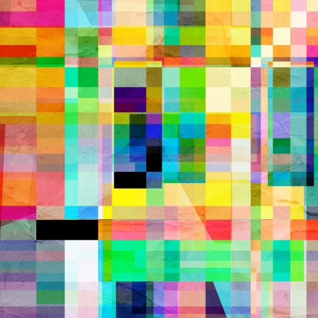 abstract colorful background of geometric elements   Stock Photo