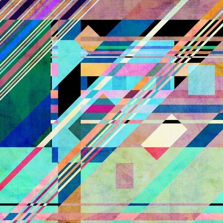 workmanship: multicolored abstract bright of the various elements