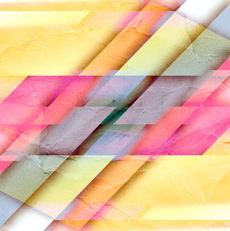 abstrakcje: jasny kolorowe akwarela ilustracja z abstrakcji.