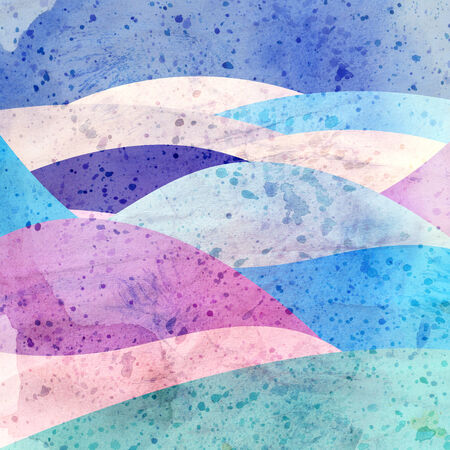 relapse: watercolor background colorful abstract colorful elements   Stock Photo