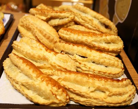 choux bun: bright fresh tasty biscuits for sale