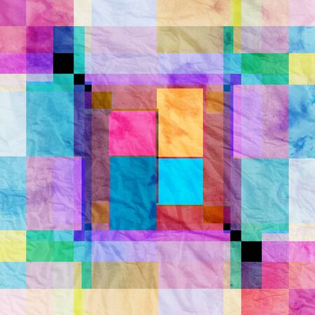 coatings: colorful abstract colorful background of geometric elements