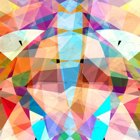 revestimientos: Fondo colorido abstracto colorido de elementos geom�tricos