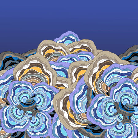 beautiful abstract background with shades of blue