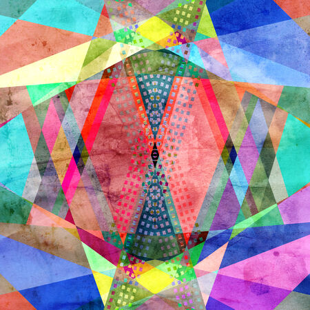graphic abstract background with geometric elements r