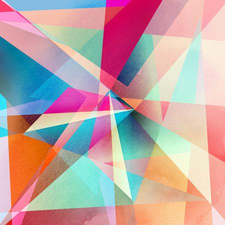 grafisch een abstracte achtergrond met geometrische elementen