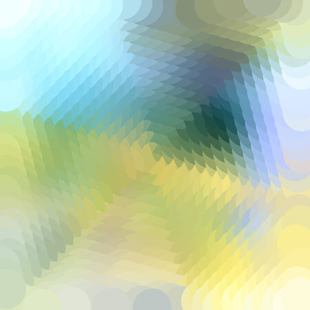 bright multicolored abstract pattern of polygons Illustration