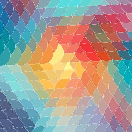 abstract colorful a background of different elements