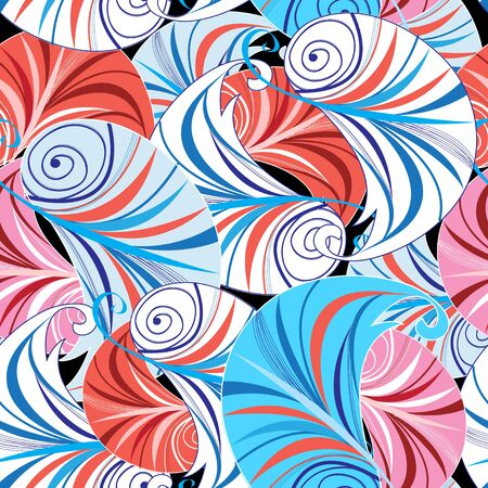 unusual: Bright graphics fantastic abstract a unusual pattern