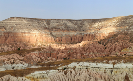 goreme: Beautiful views of the mountains in Cappadocia in Turkey