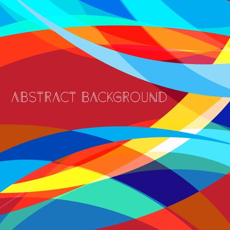 Abstract bright colorful background. Modern abstract poster design, album artwork, card design