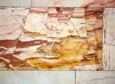 Photo background of the original beautiful colored marble wall