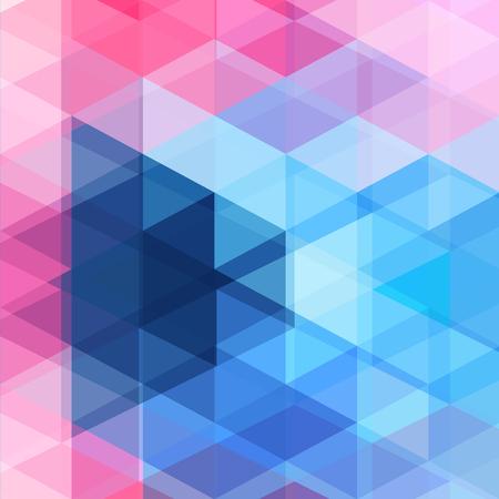 Heldere abstracte patroonveelhoeken