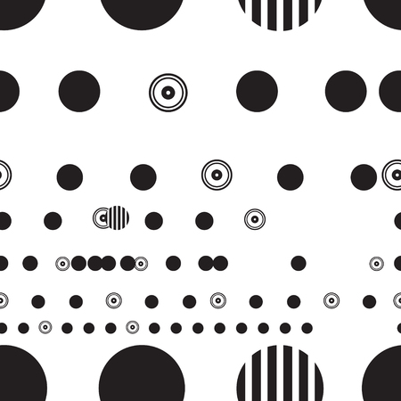 Abstract beautiful black and white graphic design Иллюстрация