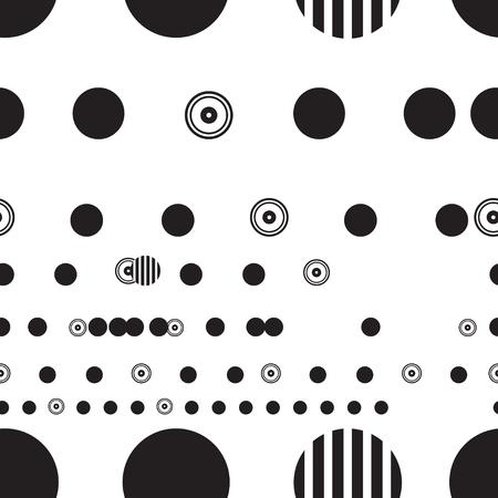 Abstract mooi zwart-wit grafisch ontwerp