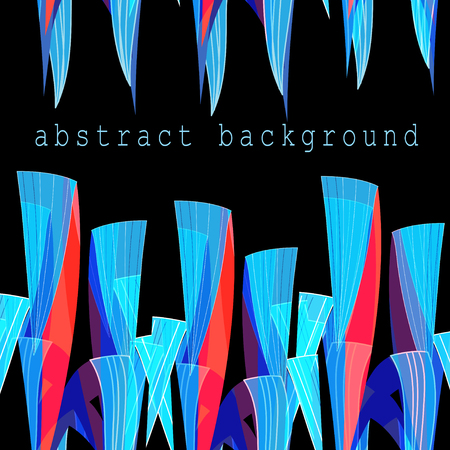 marvel: Abstract bright unusual fantasy background with different elements
