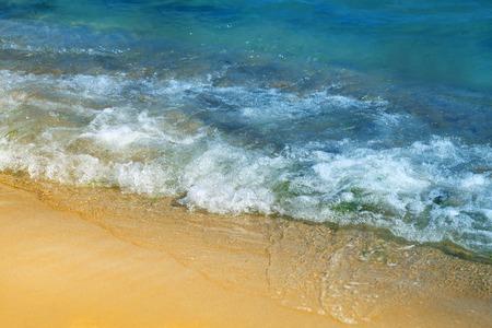 Photo background bright blue wonderful water effect
