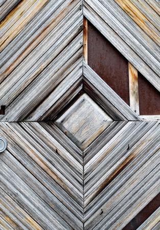 Photo background of old retro wooden masonry Reklamní fotografie