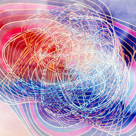 Abstract background fantastic waves