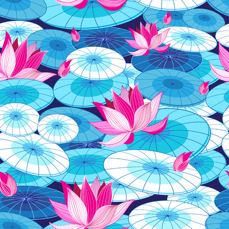 Beautiful floral pattern Ilustracja