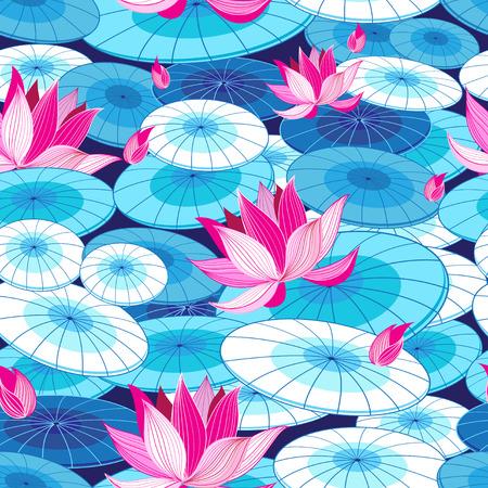 Beautiful floral pattern Illustration