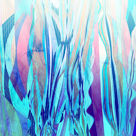다른 수채화 물 요소와 추상 수채화 밝은 배경 스톡 콘텐츠