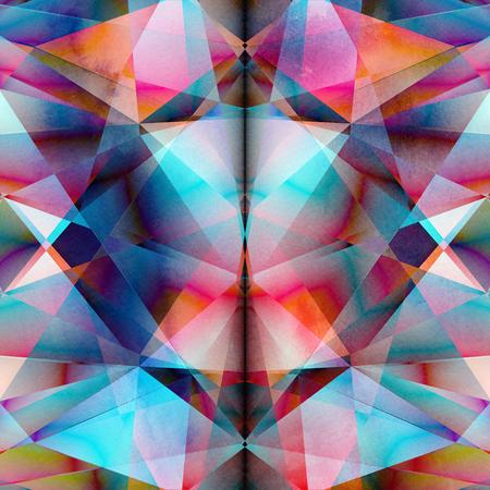 抽象的な背景ポリゴン 写真素材