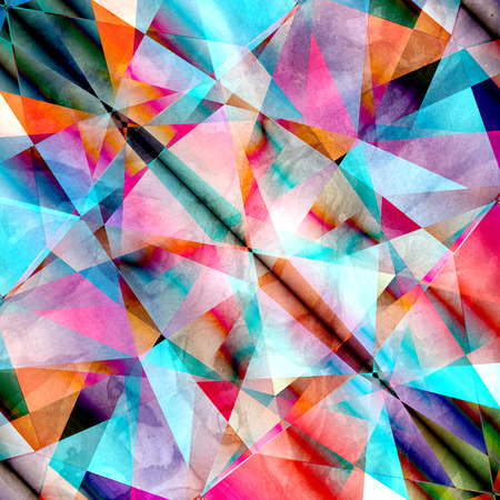 Abstract background polygon Stock Photo