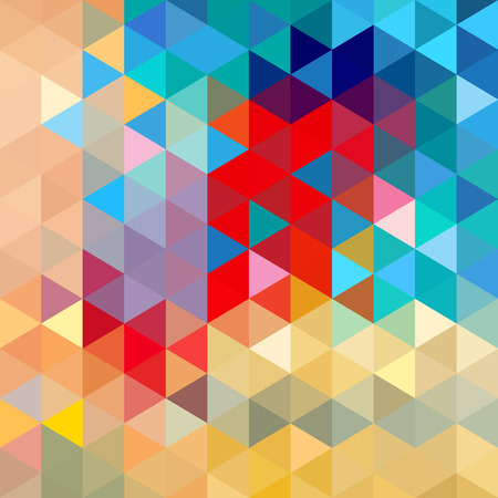 Bright colorful the geometric abstract a background.