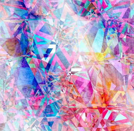 別の素晴らしい要素と抽象的な水彩背景