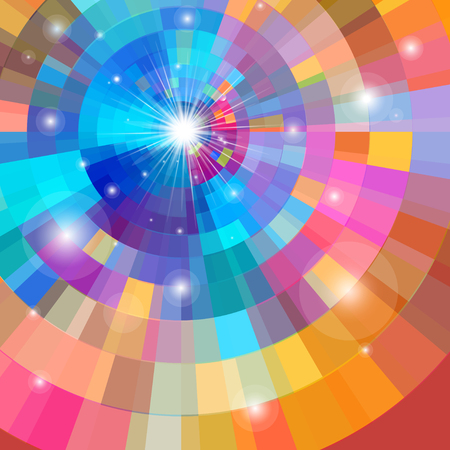 Bright multicolored gradient background Reklamní fotografie - 85467724