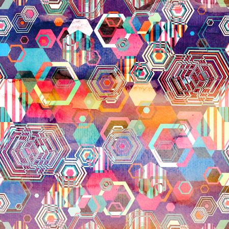 Seamless patrón gráfico brillante de diferentes diamantes Foto de archivo - 87394295