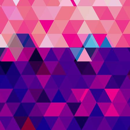 Grafische geometrische vectorachtergrond met abstracte veelhoeken voor ontwerp