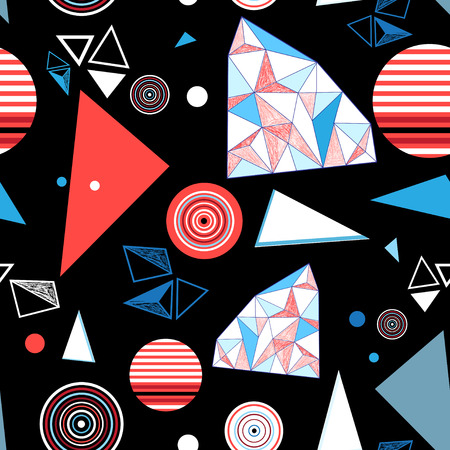 超明るい幾何学的パターン。 写真素材 - 92322559