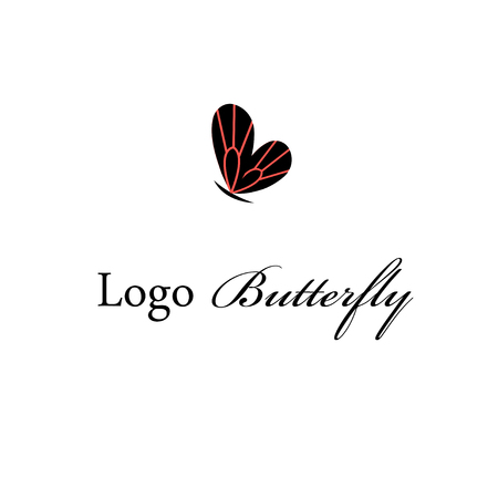 Logo of a super butterfly on a white background.