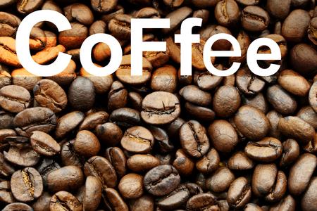 coffee background Reklamní fotografie