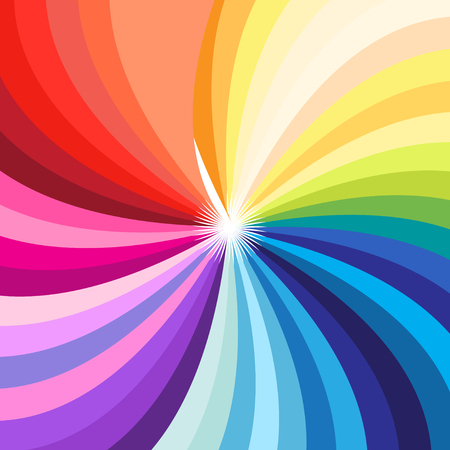Vector background bright multicolored palette of all colors Illustration